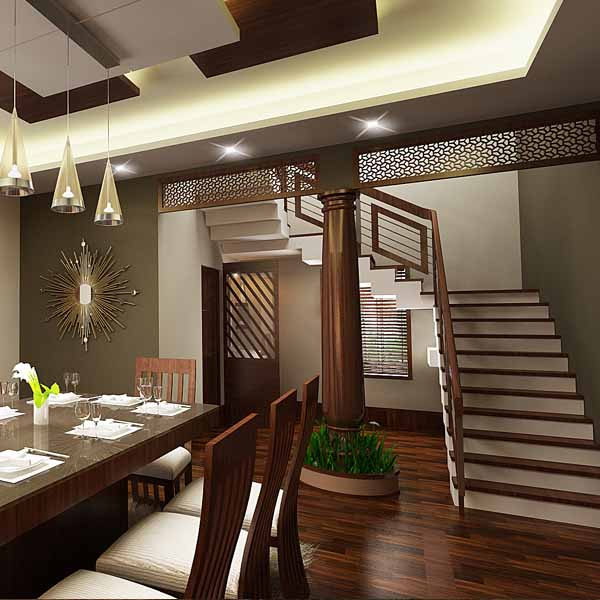 Styling A Staircase: Opzet Constrution Company In Angamaly