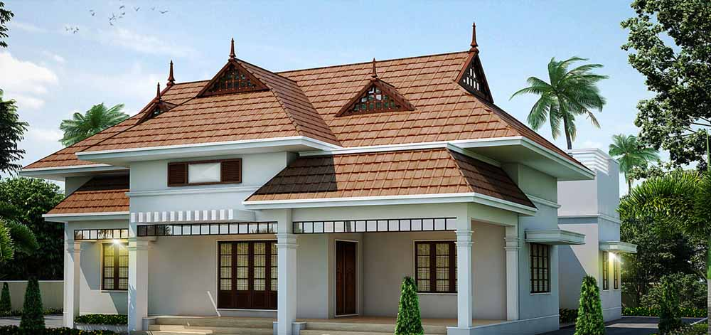 Kerala style home plans